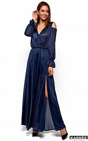 Платье Голди, Темно-синий - фото 2