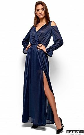 Платье Голди, Темно-синий - фото 4