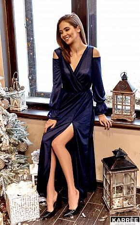 Платье Голди, Темно-синий - фото 1