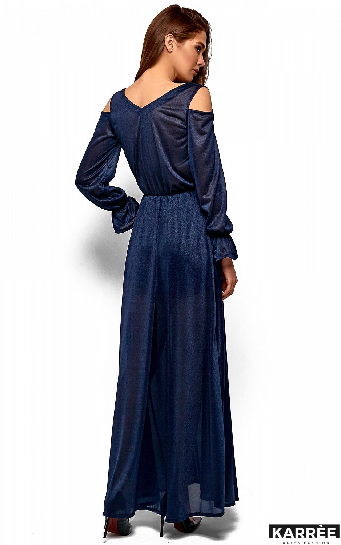 Платье Голди, Темно-синий - фото 5