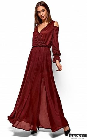 Платье Голди, Марсала - фото 2