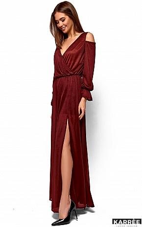 Платье Голди, Марсала - фото 3