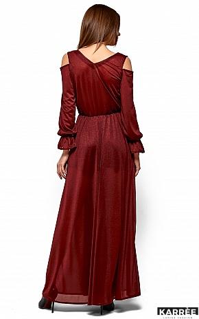 Платье Голди, Марсала - фото 4