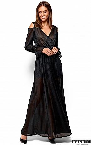 Платье Голди, Черный - фото 3