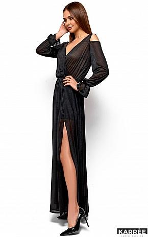 Платье Голди, Черный - фото 4