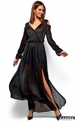 Платье Голди, Черный
