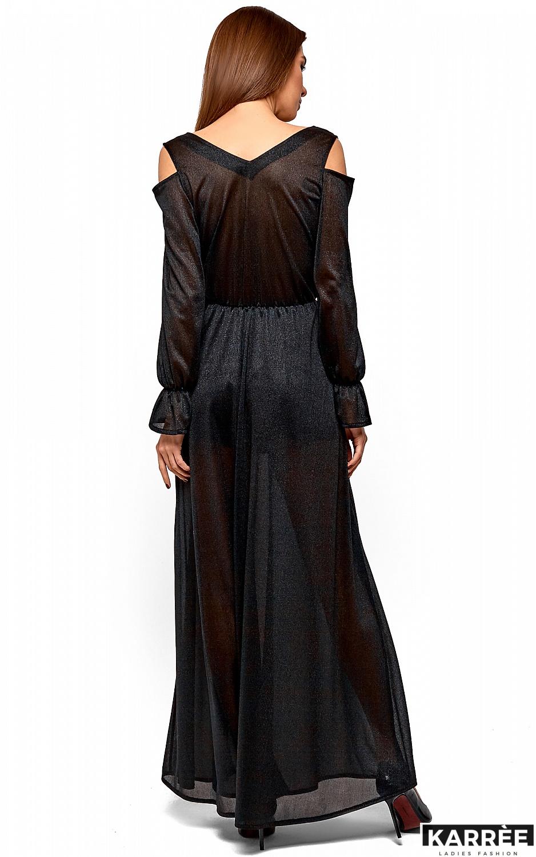 Платье Голди, Черный - фото 5