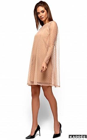Платье Дасти, Бежевый - фото 3