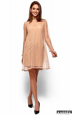 Платье Дасти, Бежевый