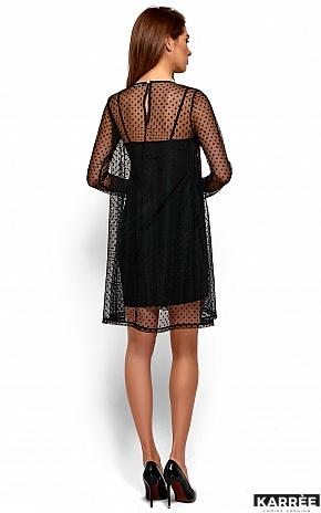 Платье Дасти, Черный - фото 4