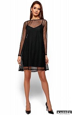 Платье Дасти, Черный
