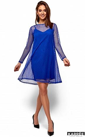 Платье Дасти, Электрик - фото 4