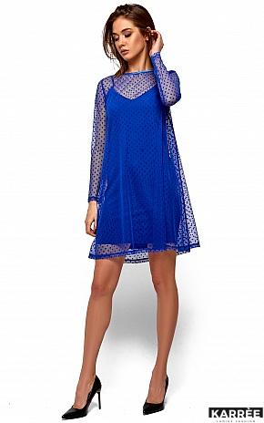 Платье Дасти, Электрик - фото 2