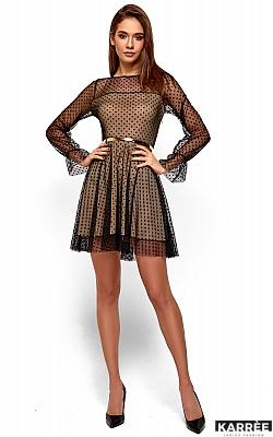 Платье Брайни, Черный