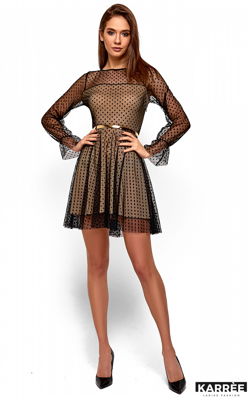 Платье Брайни, Черный - фото 2