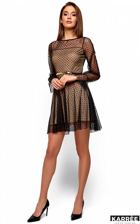 Платье Брайни, Черный - фото 4