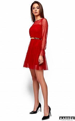 Платье Брайни, Красный - фото 4