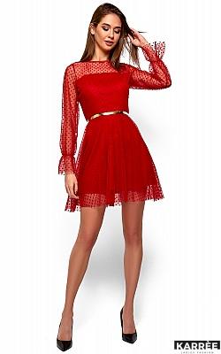 Платье Брайни, Красный
