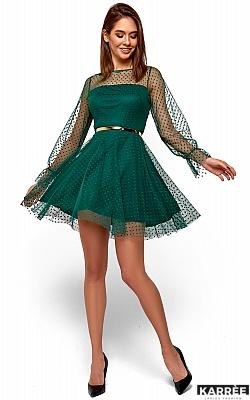 Платье Брайни, Темно-зеленый