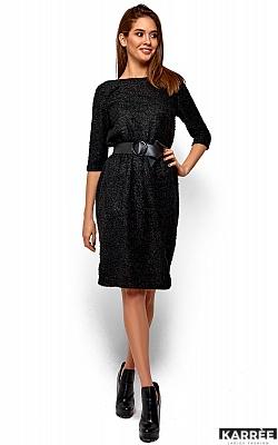 Платье Викки, Черный