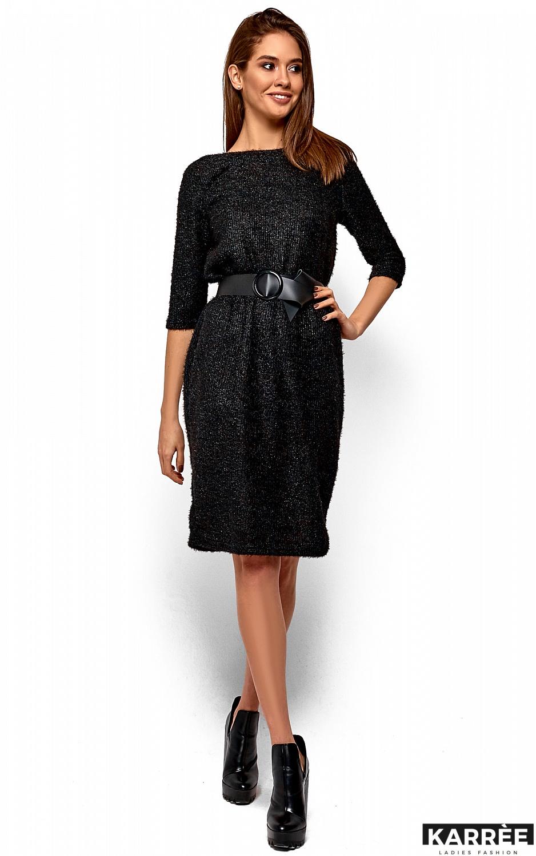 Платье Викки, Черный - фото 2