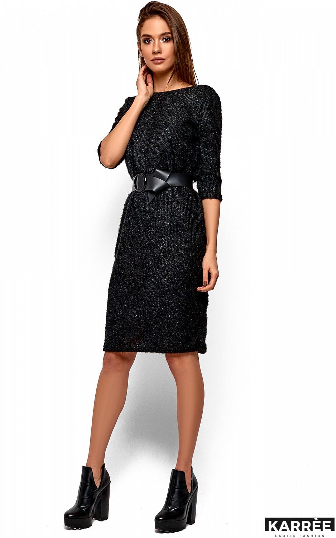 Платье Викки, Черный - фото 3