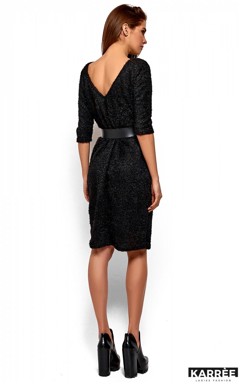 Платье Викки, Черный - фото 4