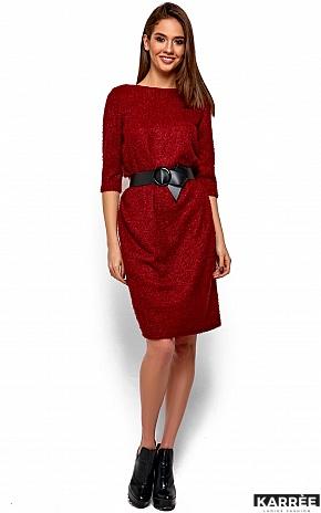 Платье Викки, Марсала - фото 2
