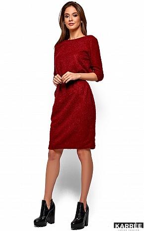 Платье Викки, Марсала - фото 3