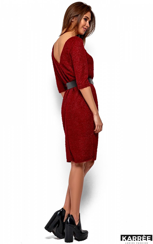Платье Викки, Марсала - фото 4