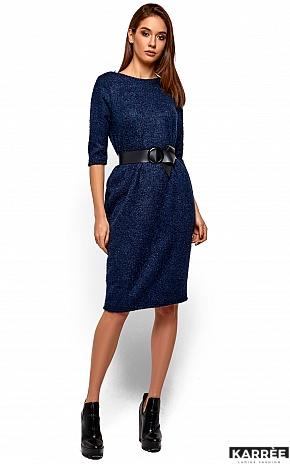 Платье Викки, Темно-синий - фото 2