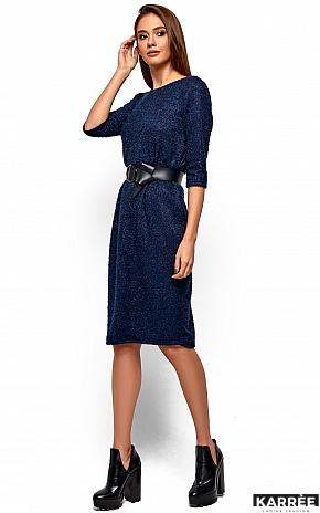 Платье Викки, Темно-синий - фото 3
