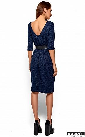 Платье Викки, Темно-синий - фото 4