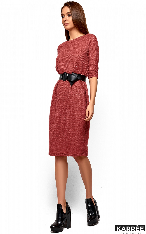 Платье Викки, Коралл - фото 3