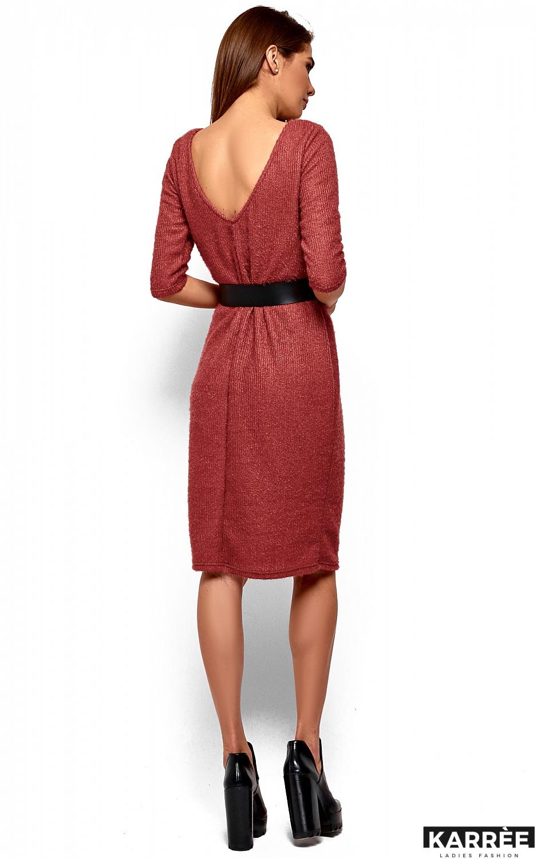 Платье Викки, Коралл - фото 4