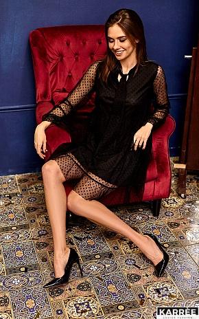 Платье Парма, Черный - фото 1