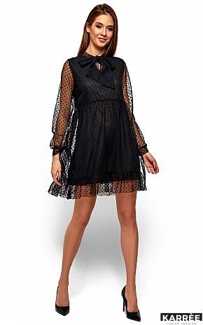 Платье Парма, Черный - фото 2