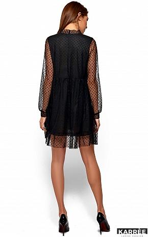 Платье Парма, Черный - фото 4