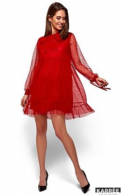 Платье Парма, Красный