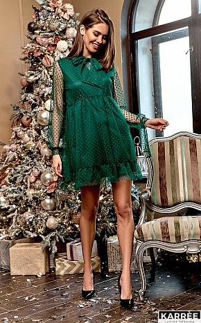 Платье Парма, Темно-зеленый - фото 1