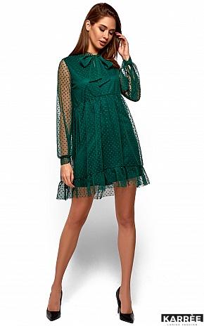 Платье Парма, Темно-зеленый - фото 3
