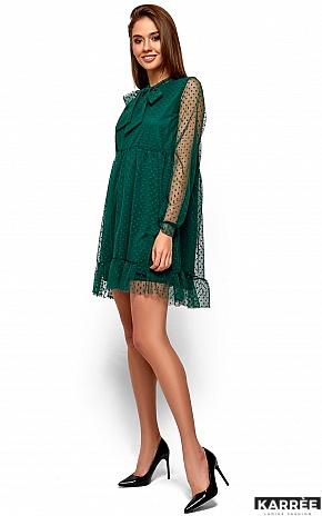 Платье Парма, Темно-зеленый - фото 4