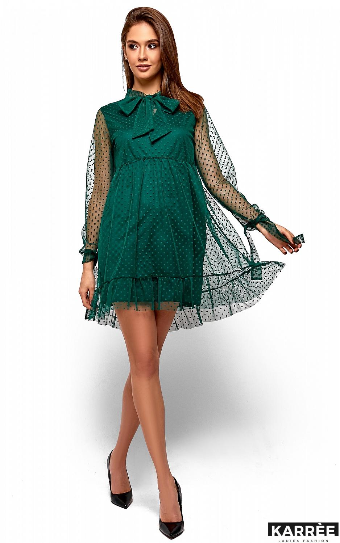 Платье Парма, Темно-зеленый - фото 2
