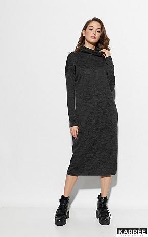 Платье Эрика, Черный - фото 1