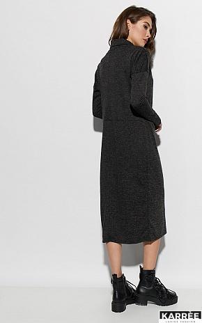 Платье Эрика, Черный - фото 3