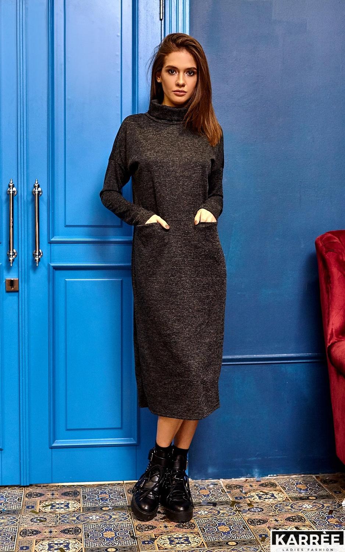 Платье Эрика, Черный - фото 4