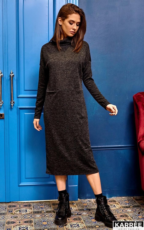 Платье Эрика, Черный - фото 5