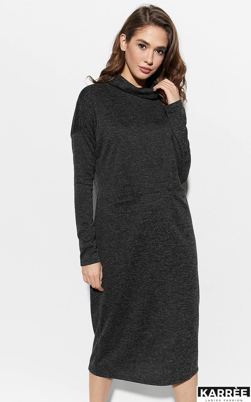 Платье Эрика, Черный - фото 2