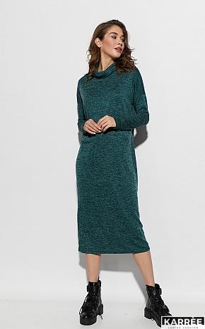 Платье Эрика, Темно-зеленый - фото 1