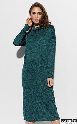Платье Эрика, Темно-зеленый